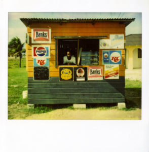 Beach Bar – Barbados, Juni 1993